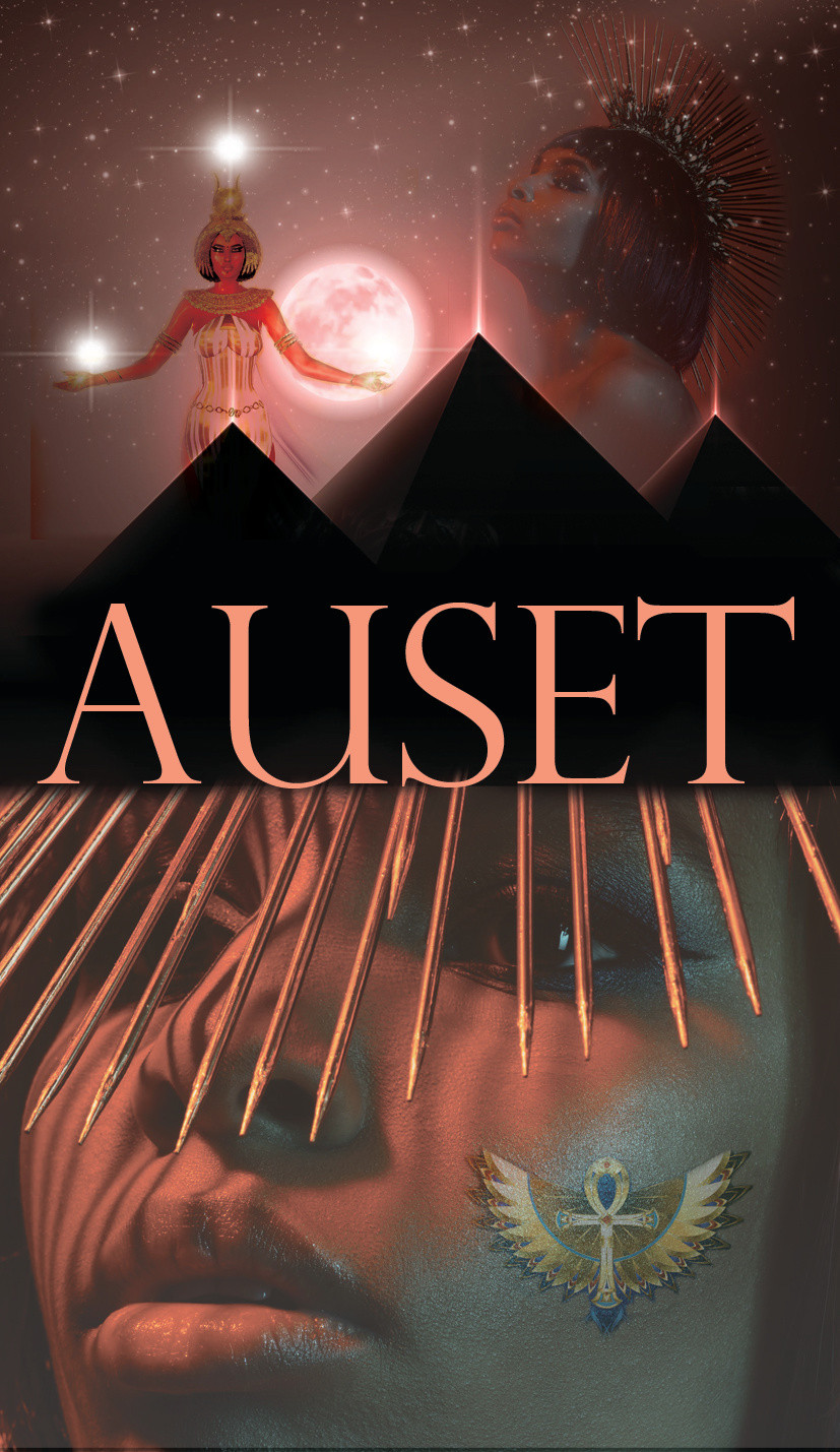 Auset, Mothers of the Matrix, Oracle Card