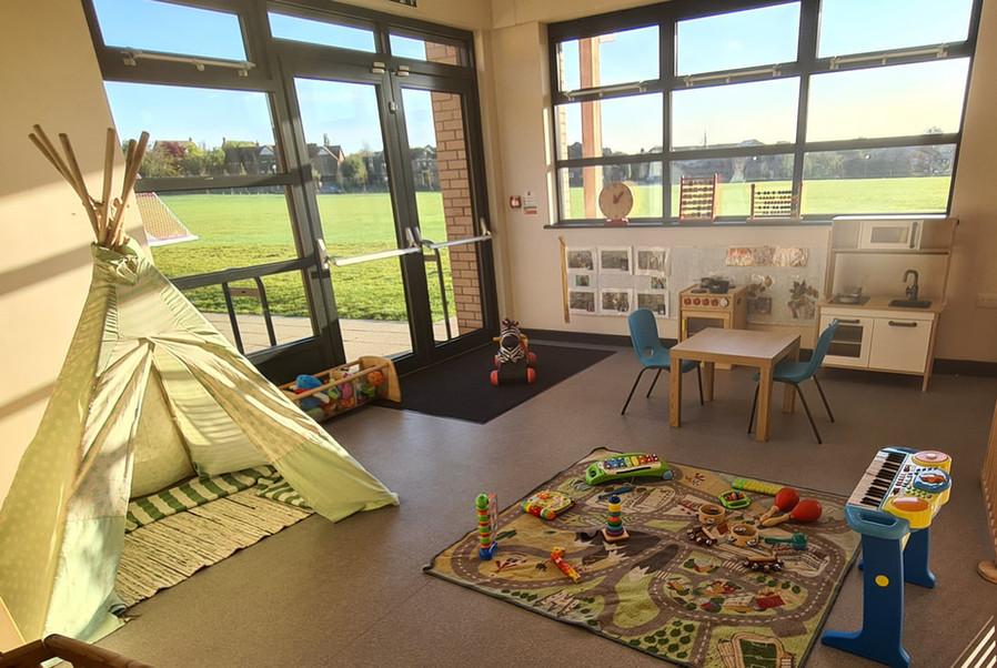 Shenley Brook End Classroom