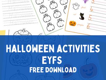 Halloween Activities - Free Download