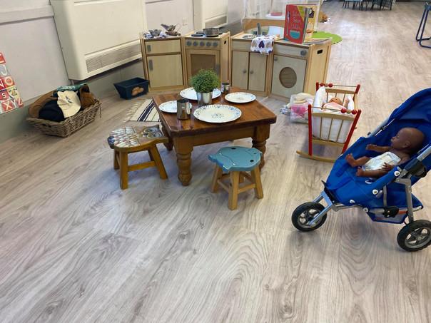 Castlethorpe kitchen play area