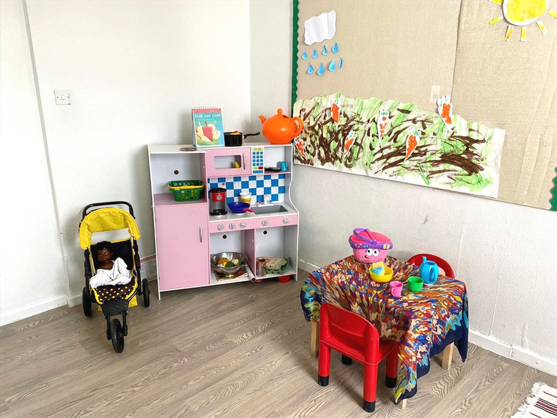 Blackley Kitchen play area