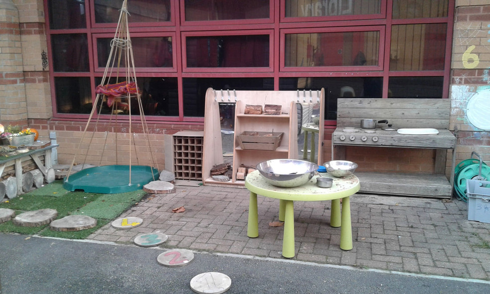 Westcroft Outdoor play area