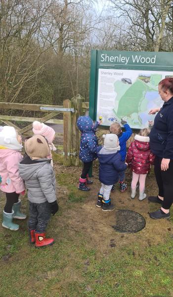 Shenley Brook End Nature Walks