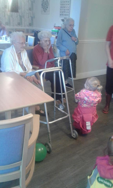 Middleton Giving back to a local care home