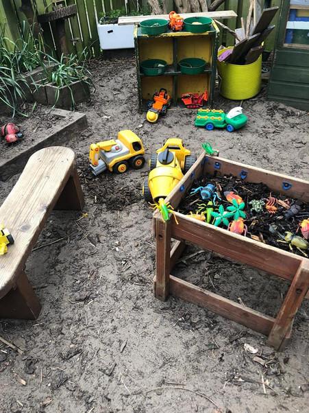 Monkston St Barts Outdoor play area