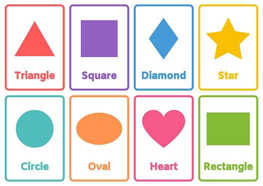 Shapes Flashcard Sheet