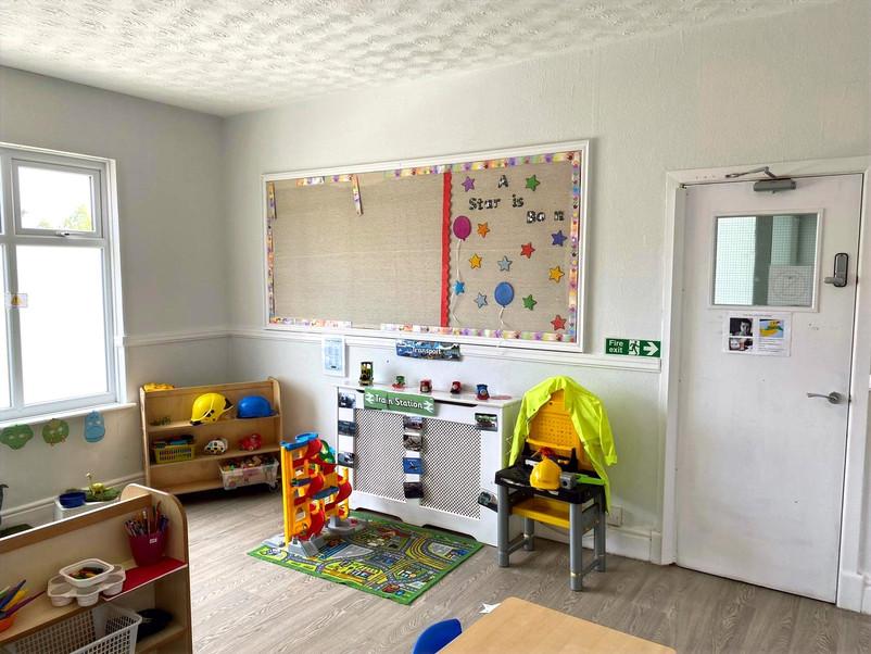 Blackley Play room - Building site