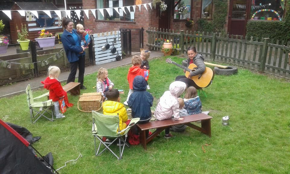 Middleton Sing and Song outdoor activity