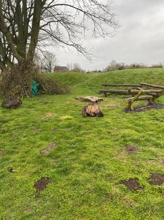 Castlethorpe outdoor area