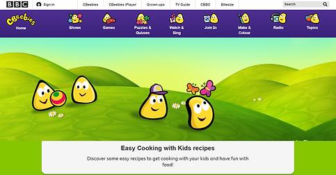 cbeebies homepage