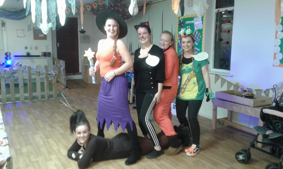 Middleton Staff Halloween dress up
