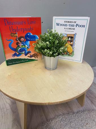 Castlethorpe Book table