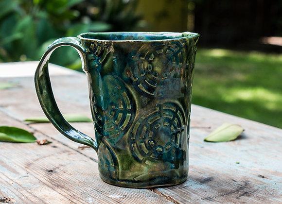 Web Textured Mug