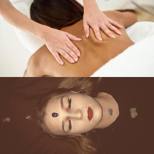 Swedish Relaxation Massage / Crystal Reiki
