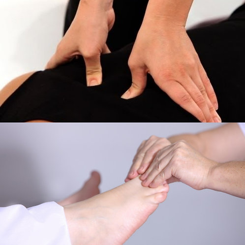 Table Shiatsu / Reflexology