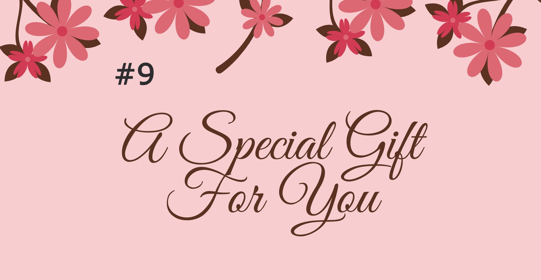 Peach Floral Massage Gift Certificate_ed