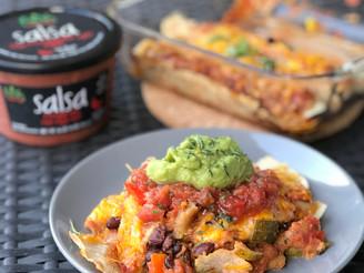Loaded Vegan Vegetable Enchiladas