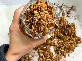 Homemade Grain Free Protein Granola