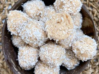 No Bake Coconut Truffles