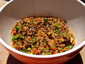 Vegan Buckwheat Groat Salad