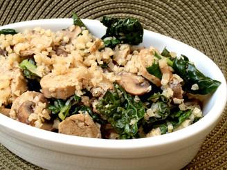 Vegan Kale & Pesto Cauliflower Bowl