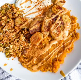 Crunchy Sweet Potato Breakfast Bowl