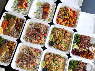 THE BEST MEAL PREP TIPS & TRICKS   prepping for pro athletes with meal ideas (includes video)