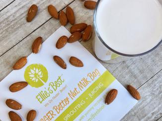 Homemade Cinnamon Vanilla Almond Milk