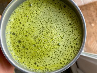 HOMEMADE MATCHA LATTE (with video)