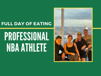 FULL DAY OF EATING | professional NBA athlete