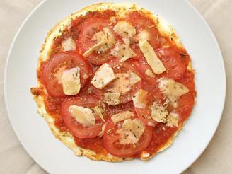 Egg White Margherita Pizza
