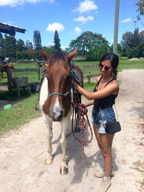 THE PERFECT DAY FOR HORSEBACK RIDING