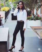 Smart business casual look