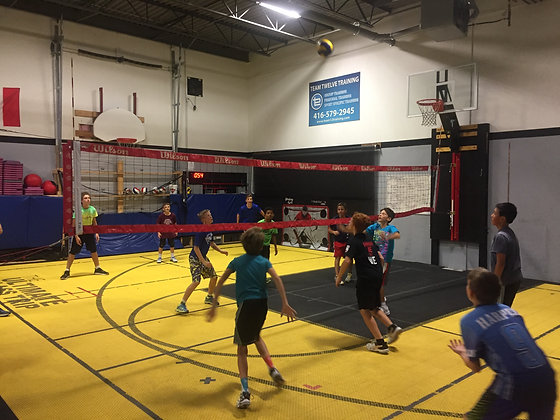T12 Volleyball Clinics