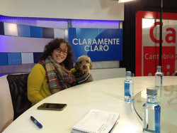 Ana y Nala en TV