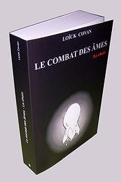 Version papier couverture Le combat des âmes Tome 1 Le choix