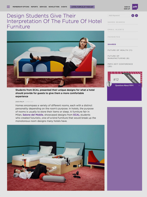PSFK Gali Day Bed