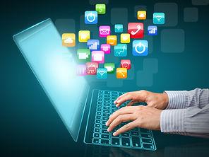 Internet communication and cloud computi