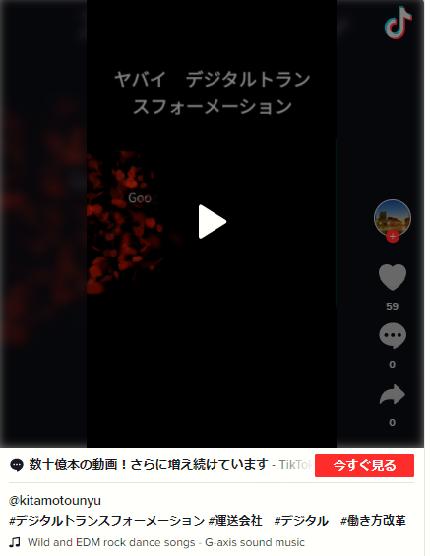 デジタルトランスフォーメーション動画