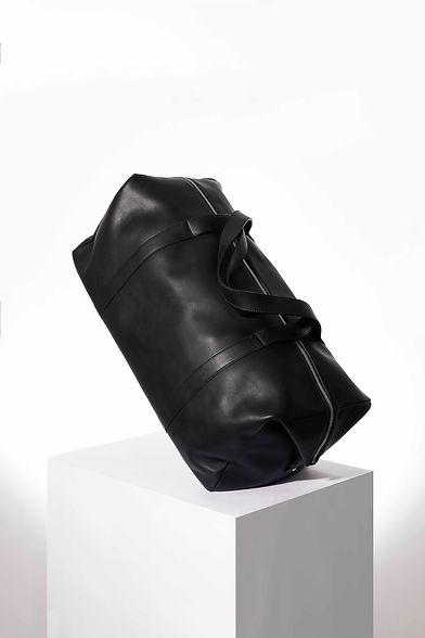 Scali design sac de voyage pour homme cuir noir par Episode Studio pour Groom Studios