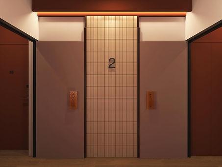 interior design luxury parisian common areas hotel episode studio