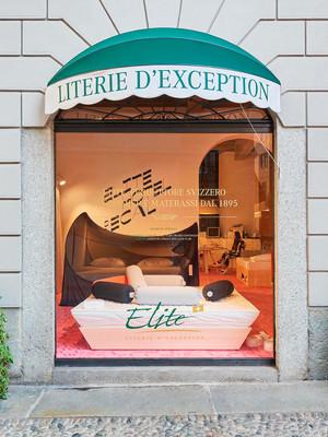 Elite Bed X ECAL Milano Salone