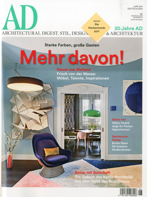 AD magazine, DE