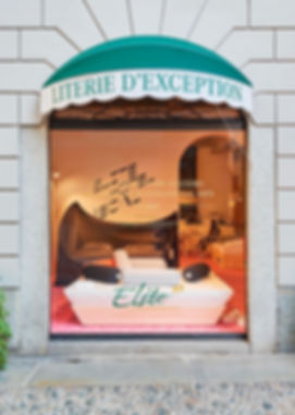 Elite Bed Gallery in Milan Brera Gali Daybed Daguet Baraness episode studio