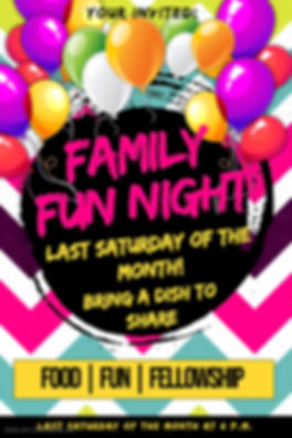 Copy of Family Fun Day Poster - Made wit