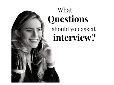 What questions should I ask at interview?