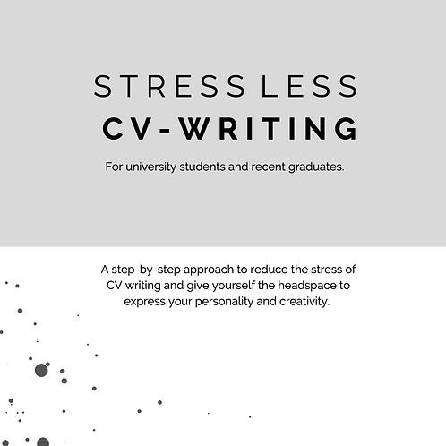 Stress Less CV Writing Guide