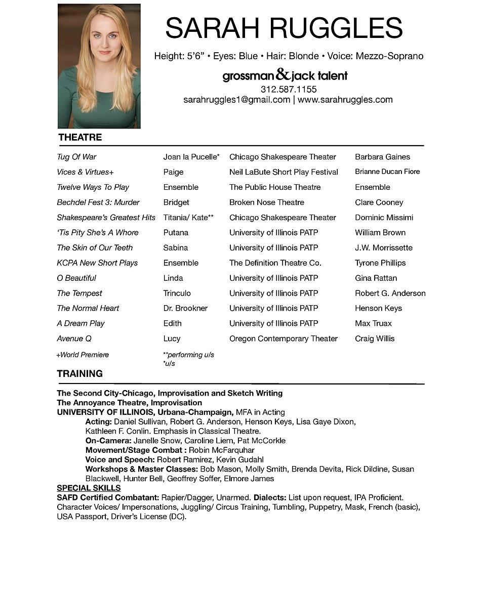 sarah ruggles resume sarah ruggles resume