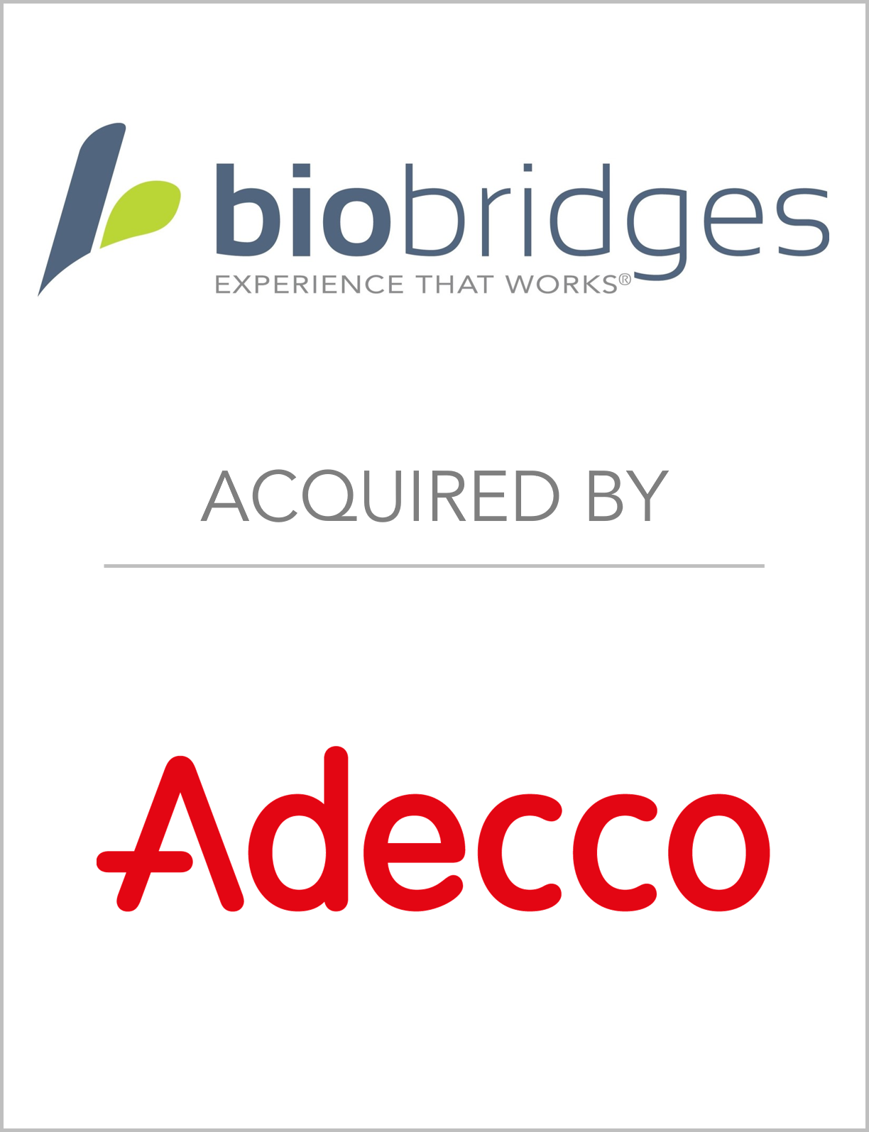Fairmount Partners Advises BioBridge