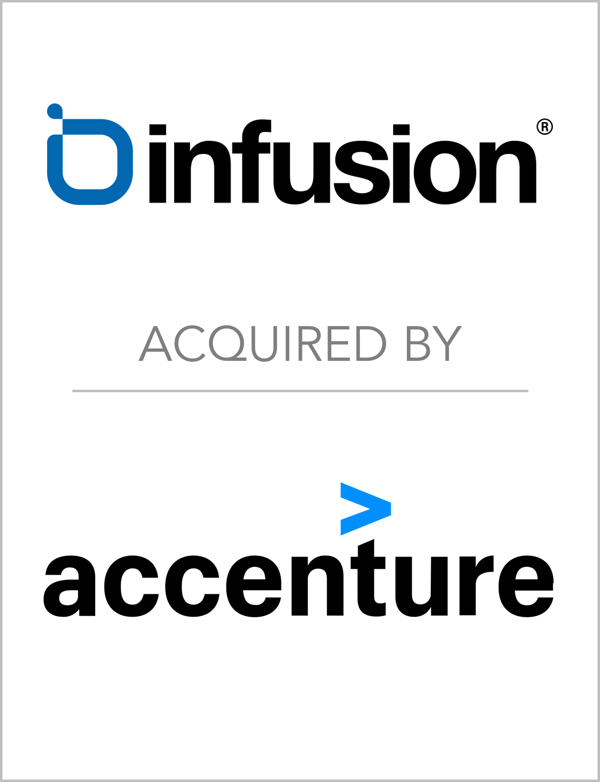 Fairmount Partners Advises Infusion